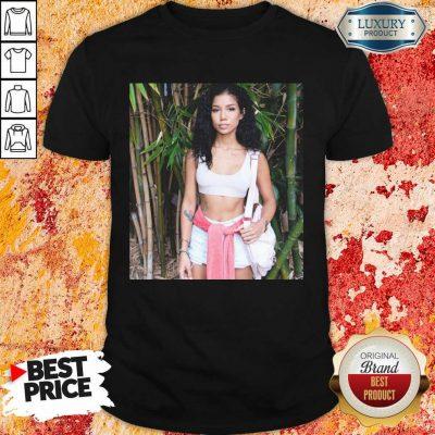 Ashamed Jhene Aiko Trip Black Jhene Aiko Shares 4 Near Death Experience On Shirt - Design by Agencetees.com
