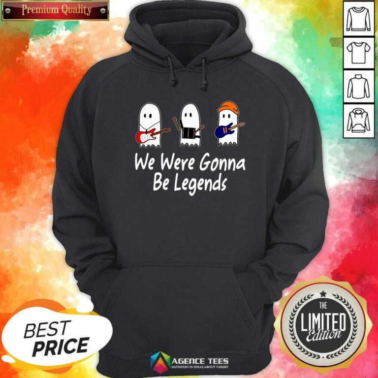 Awesome We Were Gonna Be Legends Julie And The Phantoms Ghost Hoodie - Design By Agencetees.com