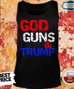 Bored God Guns and Trump 1 Tank Top