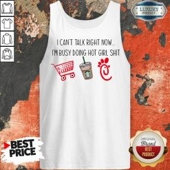 Cross Talk Right Now Im Busy Hot Girl 1 Tank Top - Design By Agencetees.com