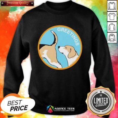 Cute Greetings Dog 2020 Sweatshirt - Design By Agencetees.com
