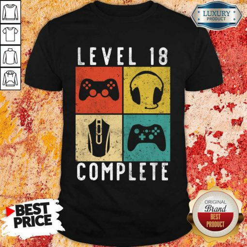 Emotional Level 18 Complete Gaming Shirt - Design by Agencetees.com