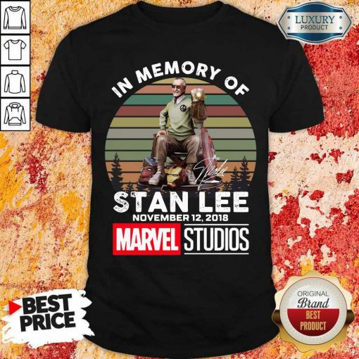 Happy Memory Of Stan Lee November 12 2018 Marvel Shirt