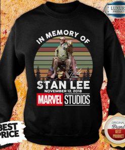 Happy Memory Of Stan Lee November 12 2018 Marvel Sweartshirt