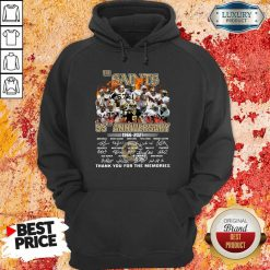 Happy The New Orland Saints 55th Anniversary 1966 2021 Hoodie