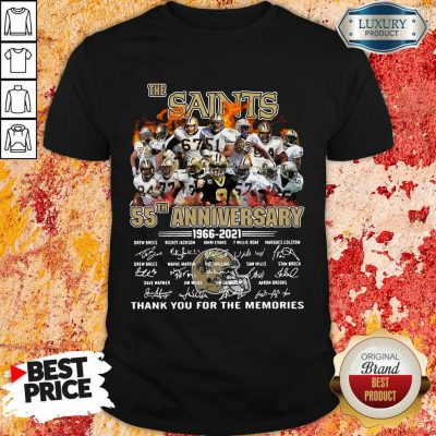 Happy The New Orland Saints 55th Anniversary 1966 2021 Shirt