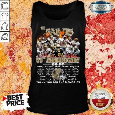 Happy The New Orland Saints 55th Anniversary 1966 2021 Tank Top