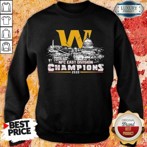 Hurt NFC Division Champions 2020 Sweatshirt