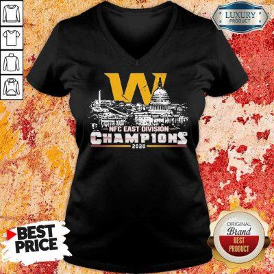 Hurt NFC Division Champions 2020 V-neck
