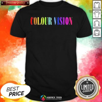 Perfect Colour Vision Embroidered Shirt - Design By Agencetees.com