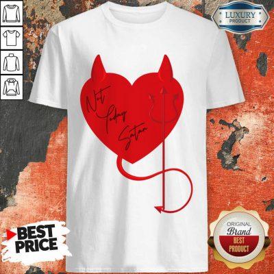 Surprised Satan Heart 4 Valentine Shirt - Design by Agencetees.com