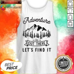 Adventure Is Out There 5 Find It Tank Top - Design by Agencetees.com