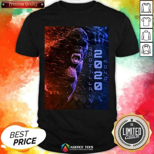 Attractive Filtrados Juguetes Ve Godzilla Vs Kong 2021 Shirt - Design by Agencetees.com