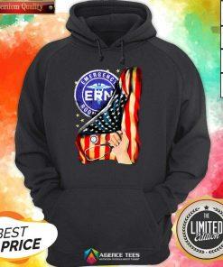 Hot Emergency Room And American Flag Hoodie