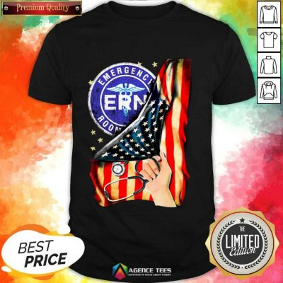 Hot Emergency Room And American Flag Shirt