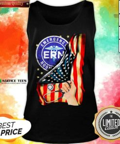 Hot Emergency Room And American Flag Tank Top