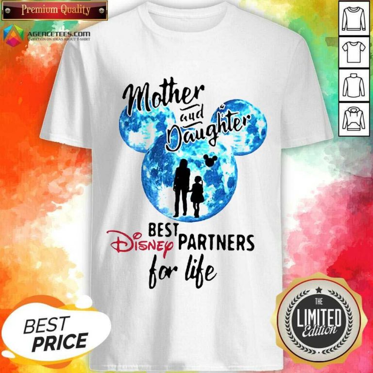 Hot Mickey Mother And Daughter Best Disney Partners For Life Shirt