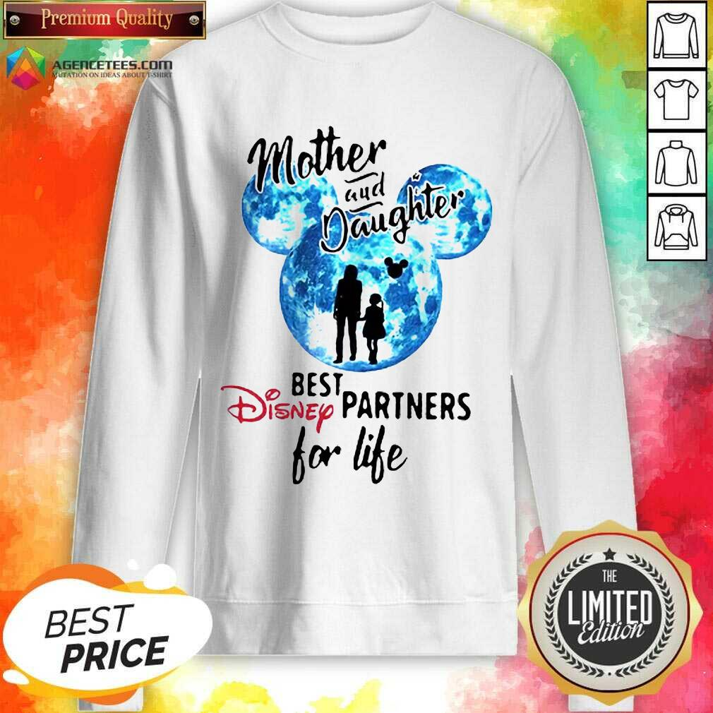 Hot Mickey Mother And Daughter Best Disney Partners For Life Sweatshirt
