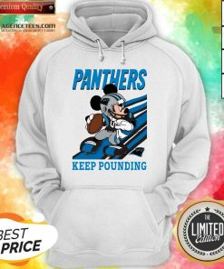 Hot Mickey Mouse Carolina Panthers Keep Pounding Hoodie
