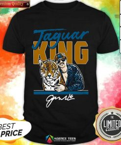 Hot Super Jaguar King Jacksonville Tiger King Shirt