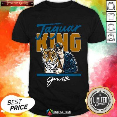 Hot Super Jaguar King Jacksonville Tiger King Shirt
