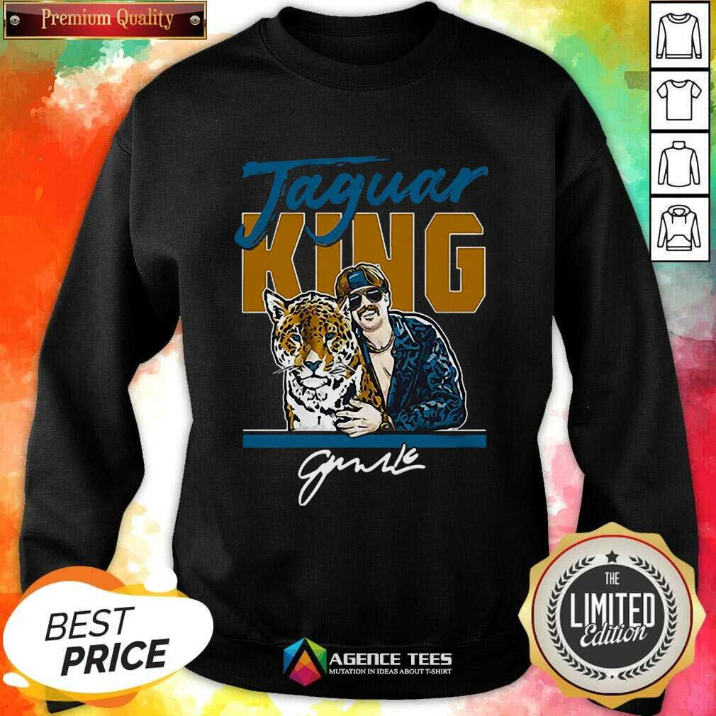 Hot Super Jaguar King Jacksonville Tiger King Sweatshirt