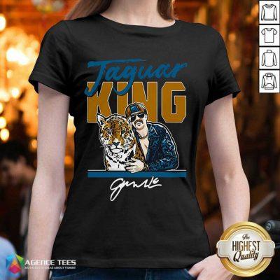 Hot Super Jaguar King Jacksonville Tiger King V-neck