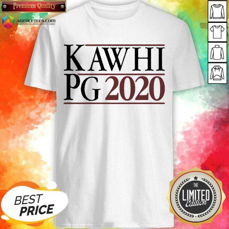 Kawhi Pg 2021 Shirt - Design by Agencetees.com