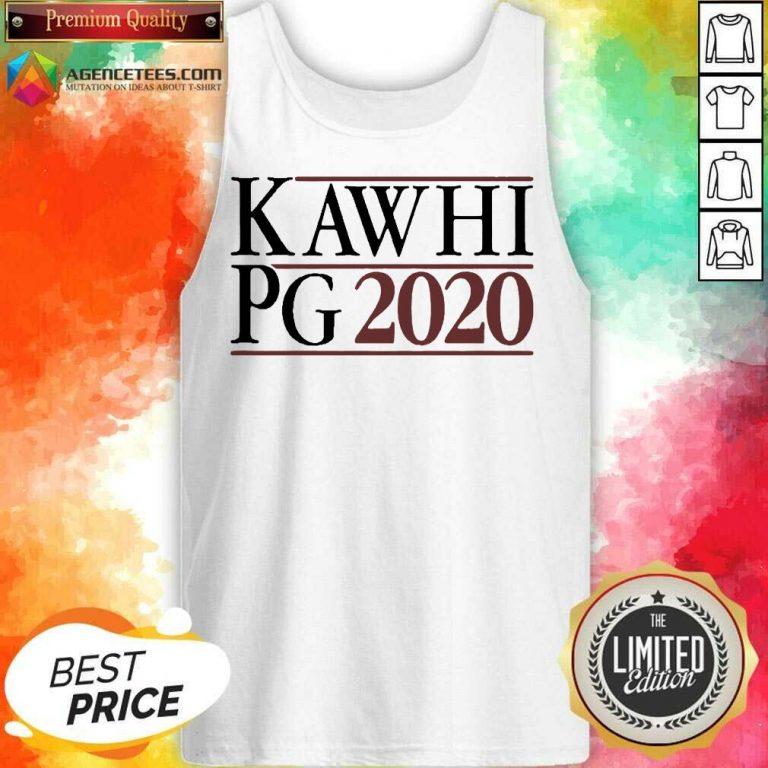 Kawhi Pg 2021 Tank Top - Design by Agencetees.com