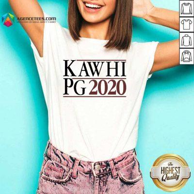 Kawhi Pg 2021 V-neck - Design by Agencetees.com