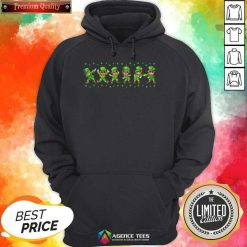 Leprechauns 6 Dancing St Patricks Day Hoodie - Design by Agencetees.com