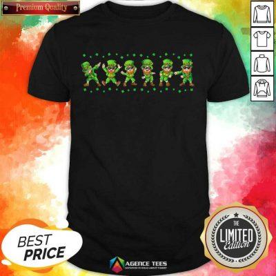 Leprechauns 6 Dancing St Patricks Day Shirt - Design by Agencetees.com