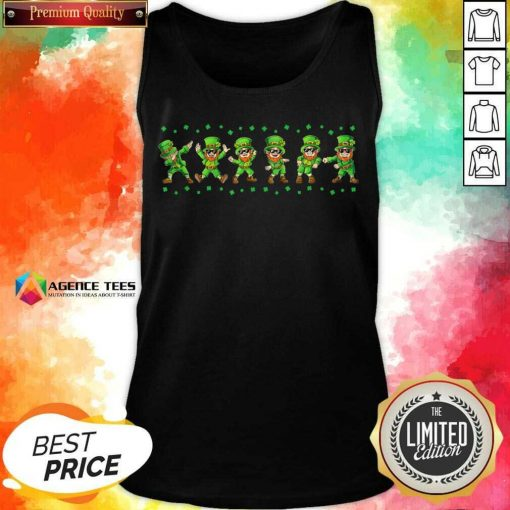 Leprechauns 6 Dancing St Patricks Day Tank Top - Design by Agencetees.com