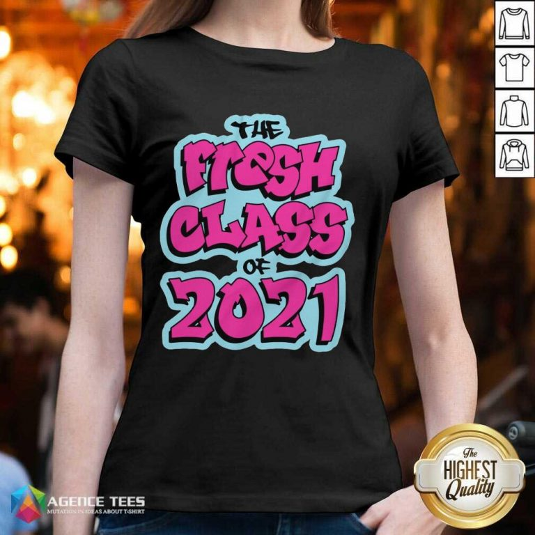 Perfect The Fresh Class Of 2021 V-neck