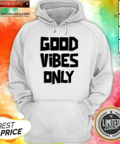 Pretty Coconut Tree Good Vibes Only Hoodie