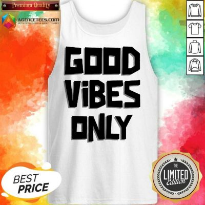 Pretty Coconut Tree Good Vibes Only Tank Top