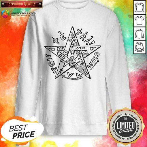 Tetragrammatron 4 Sweatshirt - Design by Agencetees.com