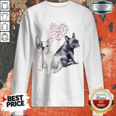 Excellent Flower Lovers French Bulldog Sweatshirt