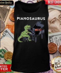 Excellent Pianosaurus Tank Top