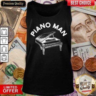 Fantastic Piano Man Tank Top