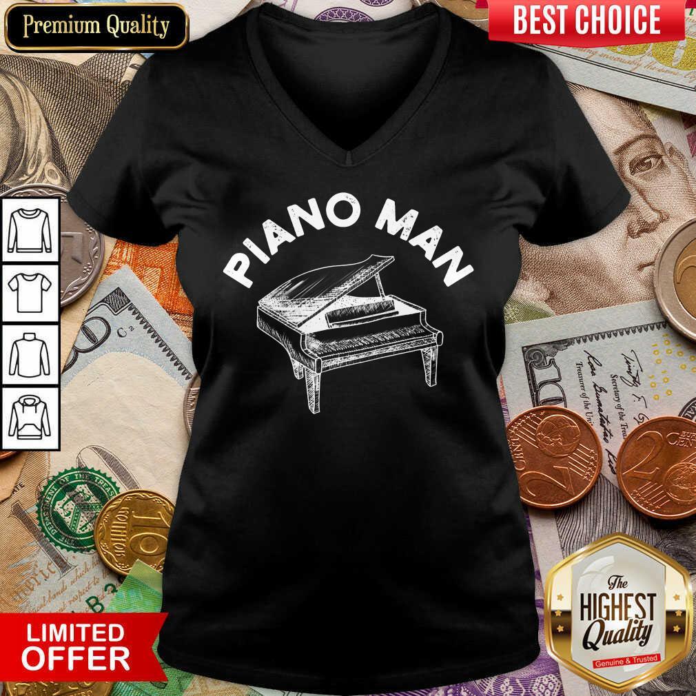 Fantastic Piano Man V-neck