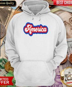 Funny America Retro Hoodie