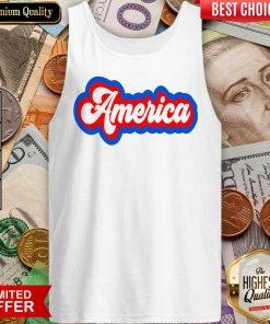 Funny America Retro Tank Top