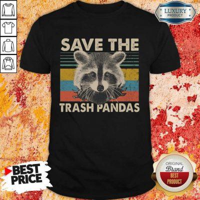 Premium Save The Trash Pandas Shirt