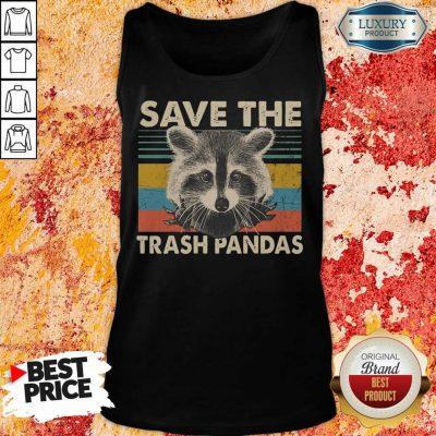 Premium Save The Trash Pandas Tank Top