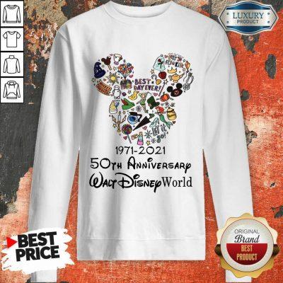 50th Anniversary Walt Disney Sweatshirt