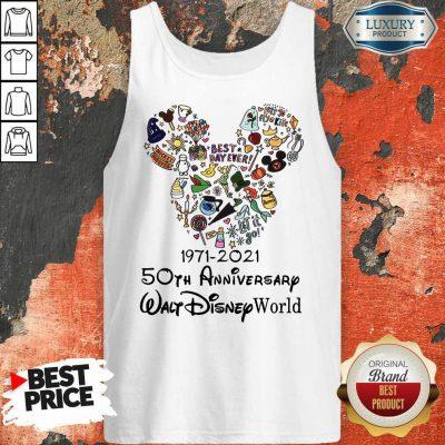 50th Anniversary Walt Disney Tank Top