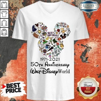 50th Anniversary Walt Disney V-neck