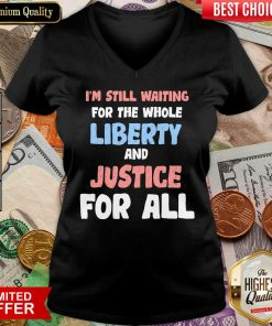 Liberty And Justice For All V-neck