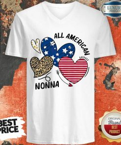 Love All American Nonna V-neck